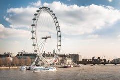 öga london uk Fotografering för Bildbyråer