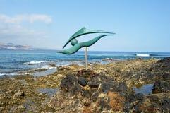 Öga på havet Royaltyfri Fotografi