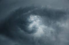 Öga på skyen Arkivbilder