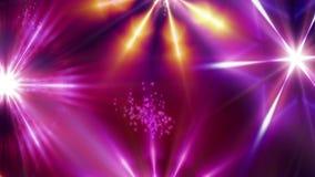 Ögla för bakgrund för Silquestar 1080p julstjärnor video stock illustrationer