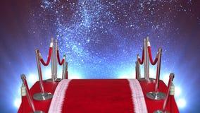 Ögla för röd matta royaltyfri illustrationer