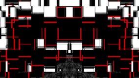 Öglor för nedladdning 60fps VJ Ögla för klubbavisuella hjälpmedel VJ vektor illustrationer