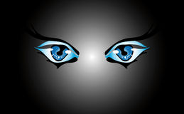 ögon Royaltyfria Foton