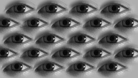 Ögon arkivfilmer