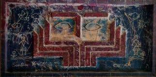 Ögon av konst arkivbild