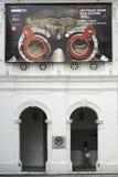 Ögon av konster i Singapore royaltyfri foto