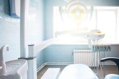 Ögon av patienten av ett tandläkarekontor arkivbilder