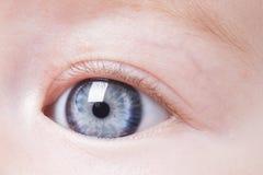Ögon behandla som ett barn royaltyfri foto