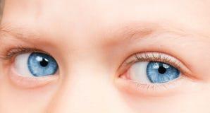 Ögon för barn` s royaltyfria foton