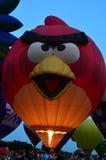 Ögon till himmelfestivalen - Ballon Glow7 arkivbild