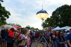 Ögon till himmelfestivalfjärdedelen av Juli arkivbilder
