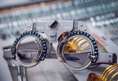 Ögon- utrustning arkivbilder