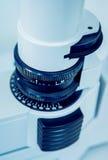 Ögon- utrustning läkarundersökning arkivbilder