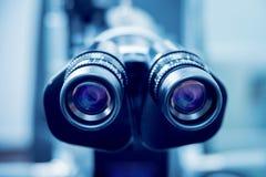 Ögon- utrustning läkarundersökning Fotografering för Bildbyråer