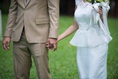 Ögonblick av brudromans Arkivfoton