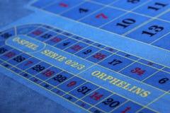 Ögonblick i kasino Arkivfoton