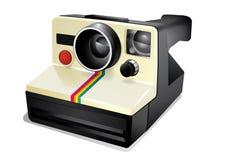 Ögonblicklig kamera för tappning Royaltyfri Bild