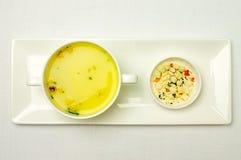 Ögonblicklig soppa Fotografering för Bildbyråer