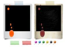 ögonblickliga fotospills Vektor Illustrationer