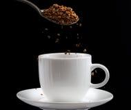 Ögonblickligt kaffe Arkivfoto