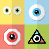 Ögondesign Arkivbild