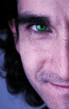 ögonframsidagreen arkivfoto