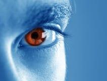 ögonhuman fotografering för bildbyråer