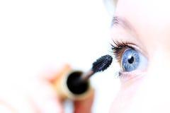 ögonkvinnlig Fotografering för Bildbyråer