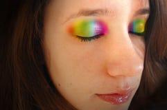 ögonlockregnbåge Royaltyfria Bilder