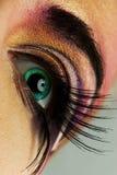 ögonmålarfärg royaltyfria bilder