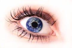ögonmagi Arkivfoto