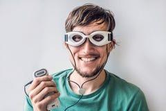 ÖgonMassagerapparat för ögon Fotografering för Bildbyråer