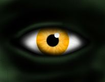 ögonmonster Arkivbilder