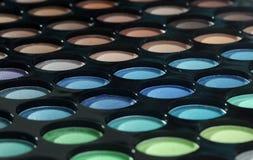 ögonskuggapalett Fotografering för Bildbyråer