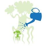 ökande tree Arkivfoton