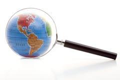 ökande värld Arkivfoton