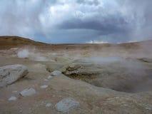 Öken av Atacama, Chile arkivfoton