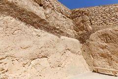 Öken av Egypten Royaltyfri Foto