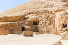 Öken av Egypten Arkivfoton