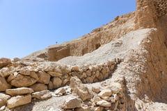 Öken av Egypten Arkivfoto