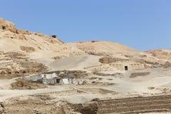 Öken av Egypten Royaltyfri Bild
