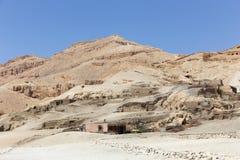 Öken av Egypten Royaltyfria Bilder
