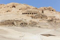 Öken av Egypten Arkivbild