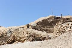Öken av Egypten Royaltyfri Fotografi