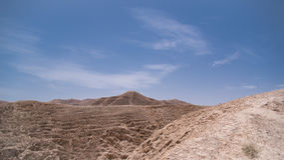 Öken av Israel Arkivbild