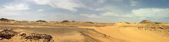 Öken av Libyen Arkivbild