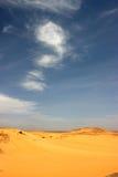 Öken av Libyen Arkivbilder