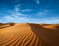 Öken av Nordafrika Royaltyfria Foton