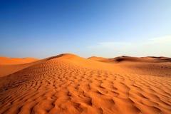 Öken av Sahara Arkivfoton