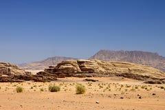 Öken av Wadirom Fotografering för Bildbyråer
